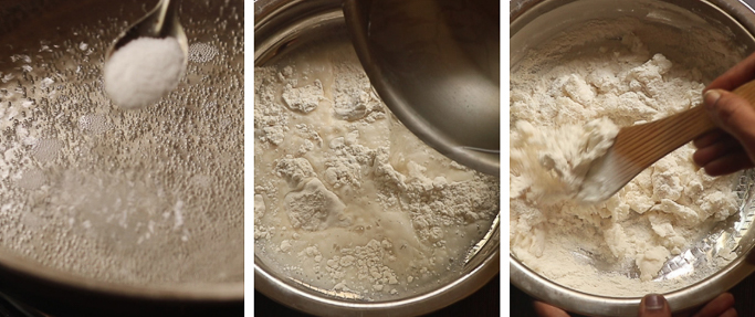 idiyappam recipe with rice flour nool puttu recipe