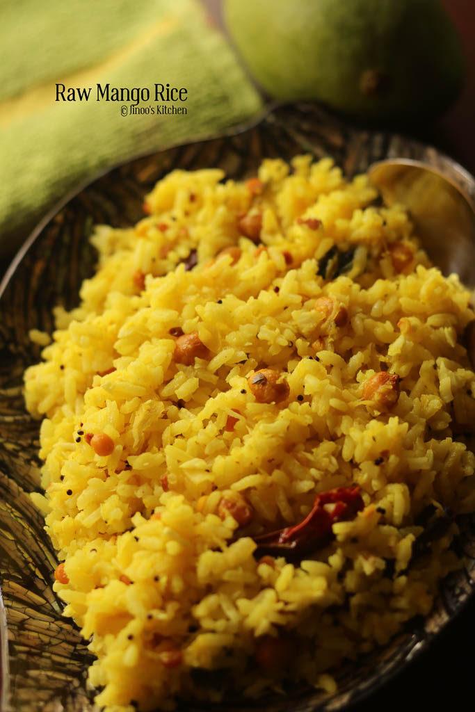 raw mango rice recipe