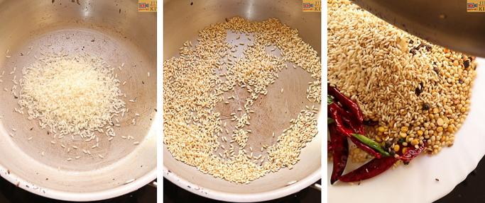 step 7 idli podi recipe