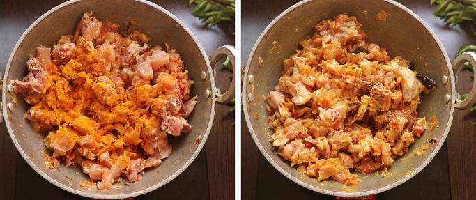 add turmeric spicy chicken fry recipe