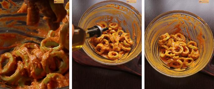 step 6 snake gourd rings recipe