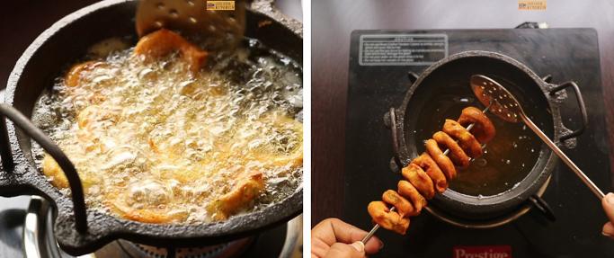 step 8 snake gourd rings recipe
