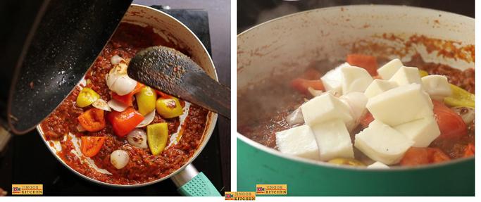 Kadai Egg white curry recipe add egg white