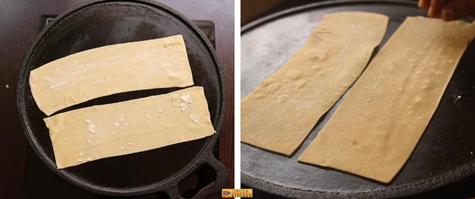 Beach samosa with wheat flour