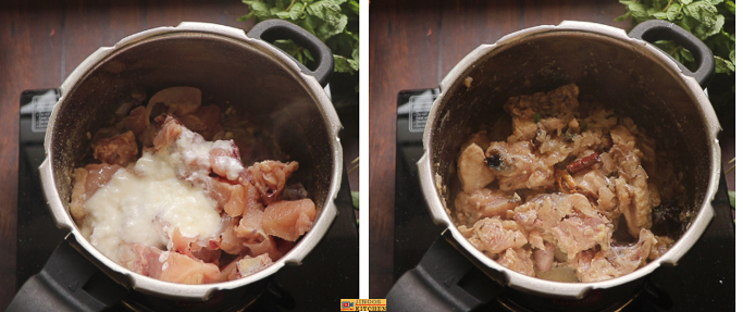 easy chicken dum biryani recipe