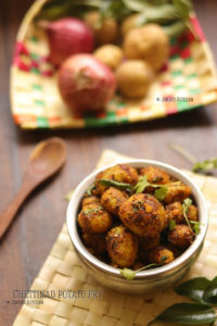 chettinad potato fry recipe