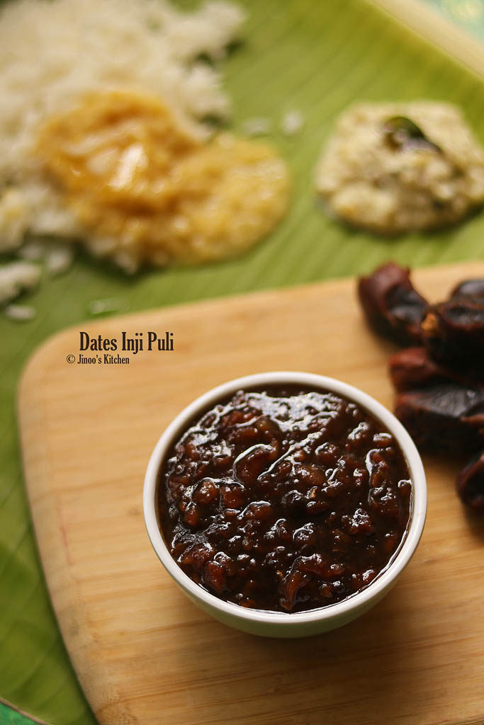 dates inji puli recipe