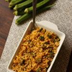 aloo bhindi rice recipe