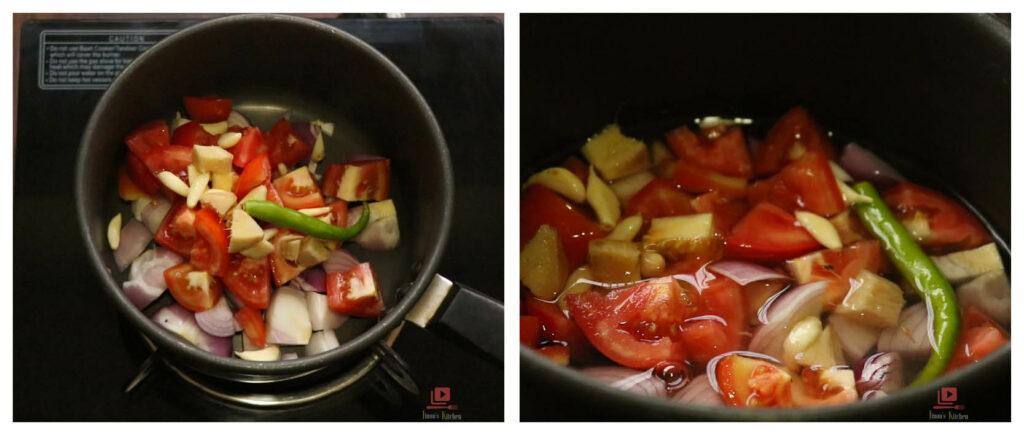 Mixed veg sabzii