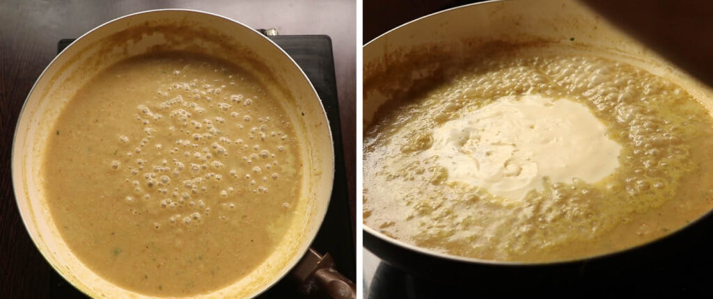methi mutter malai recipe
