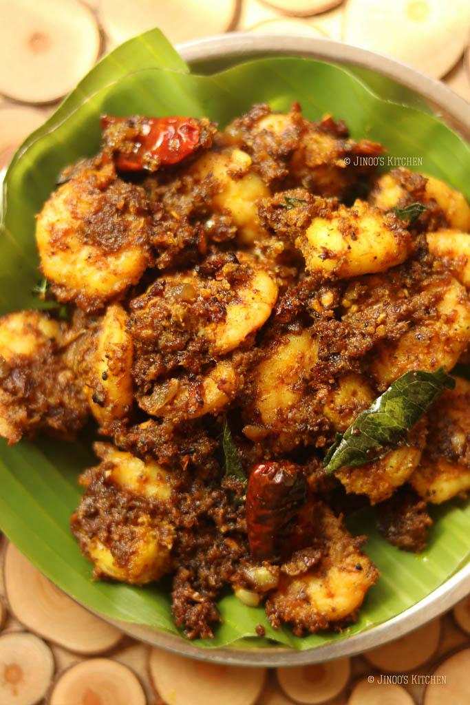 prawns fry recipe street food style