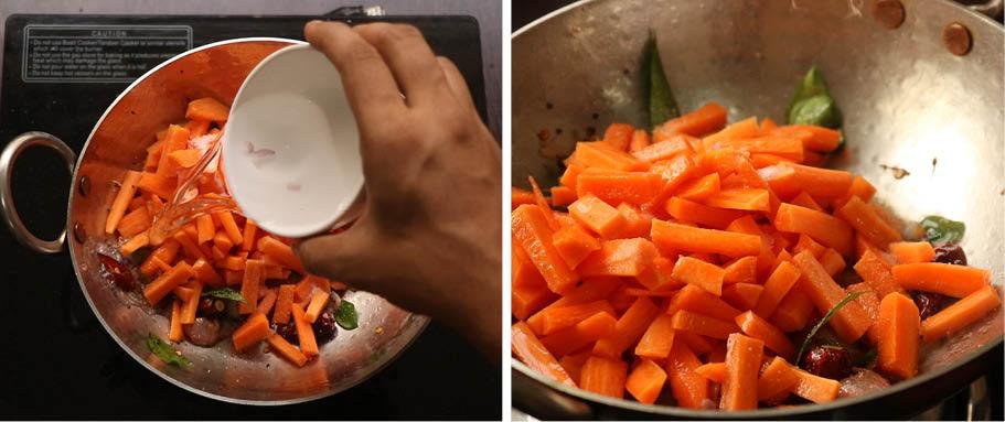 carrot mezhukkupuratti recipe