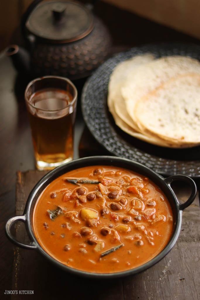 varutharacha kadala curry recipe