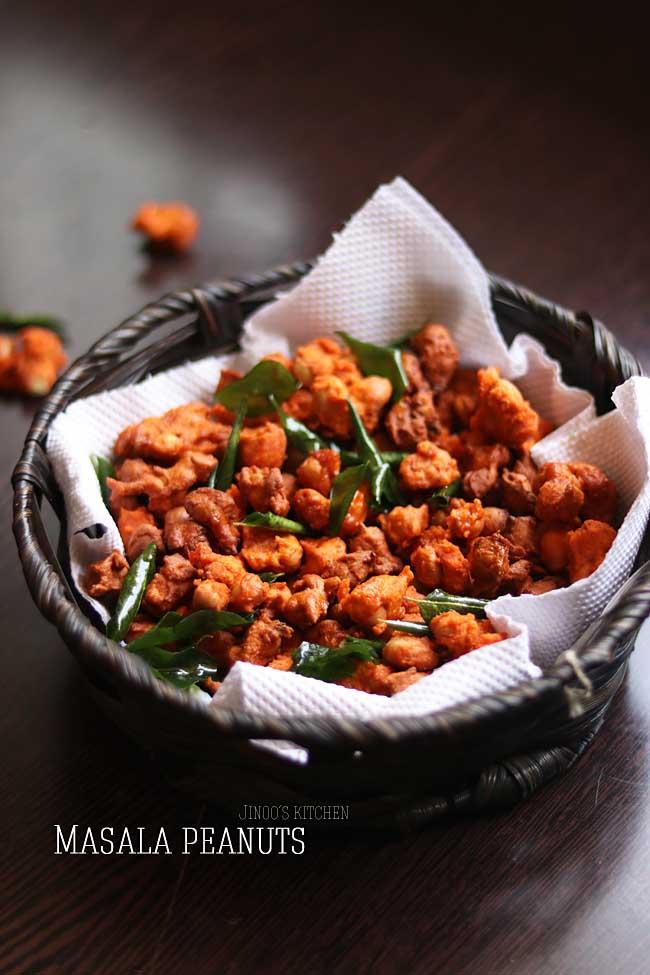 Masala peanuts recipe - masala kadalai