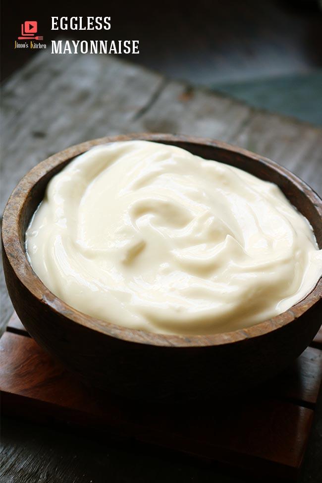 eggless mayonnaise recipe