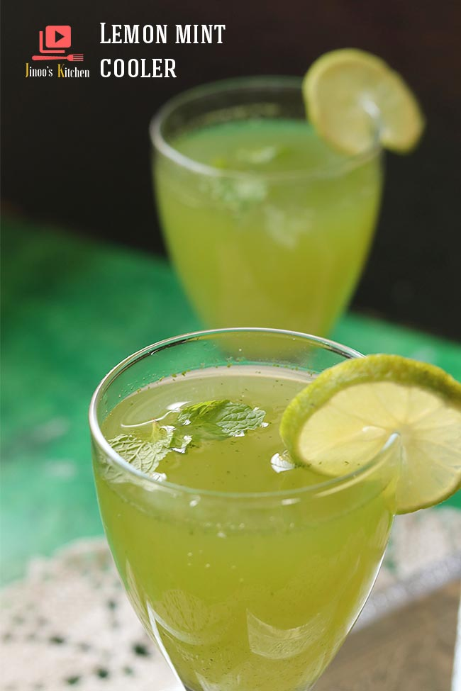 lemon mint cooler recipe