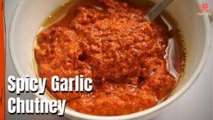 spicy garlic chutney