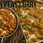 south indian peas masala