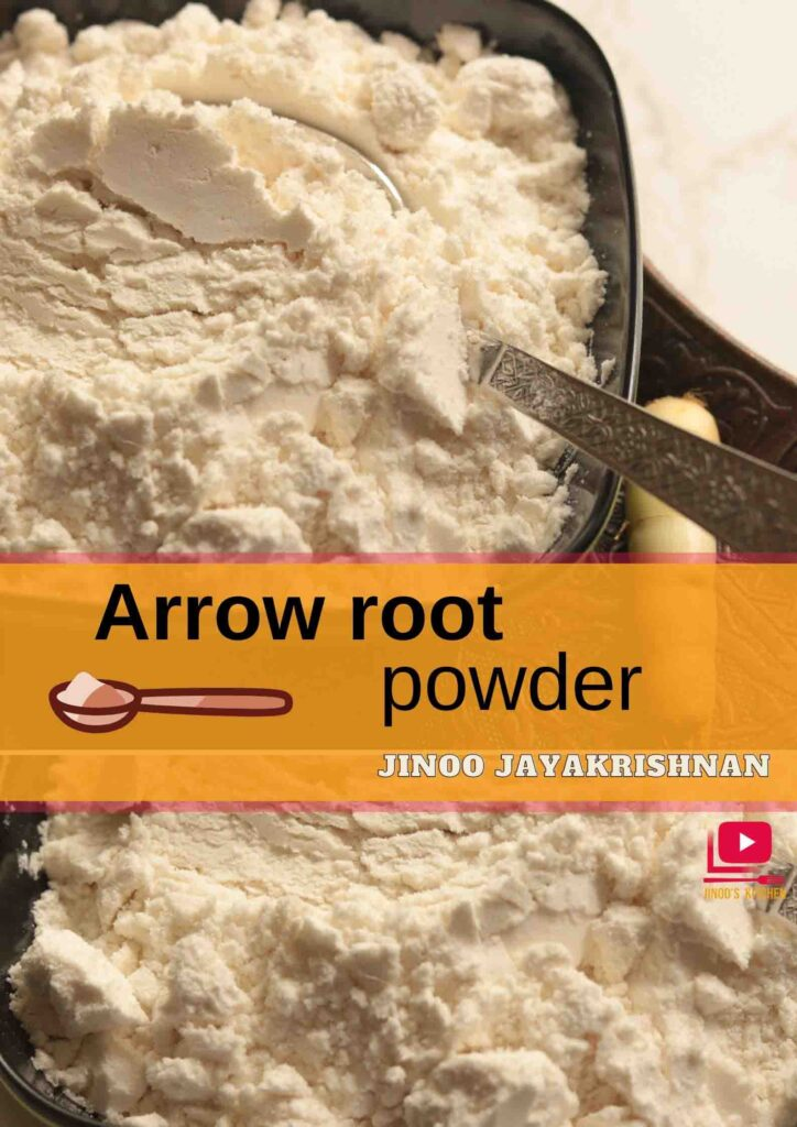 arrow root powder recipe