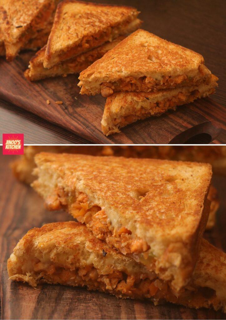 chicken vegetable sandwich