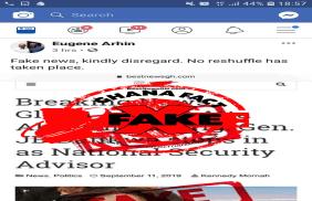 FACT-CHECK: Gloria Akuffo, Atta-Akyea fired?