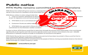 FACT-CHECK: MTN mobile money service to shut down?