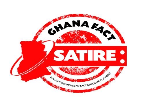 Ghana Fact Embossment - Satire NEW 550