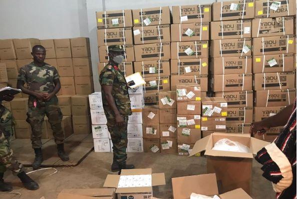 FALSE: Chinese medical aid to Ghana contaminated with coronavirus