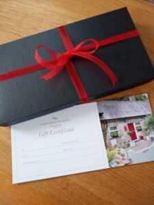 Treat someone special to one of our new Gift Vouchers with presentation box.
