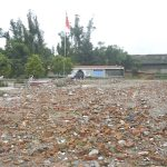 The main classroom building demolished