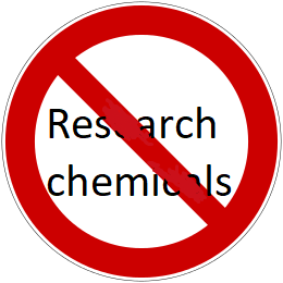 research chemicals verbod