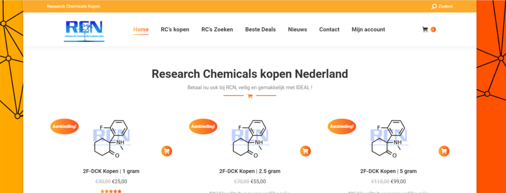 research chemicals kopen Nederland.