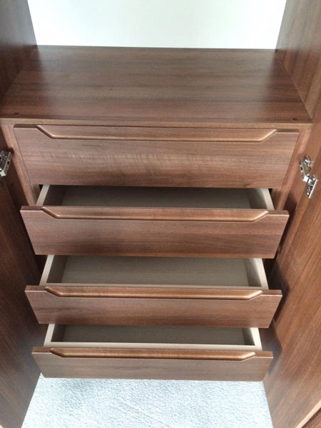 Internal drawers