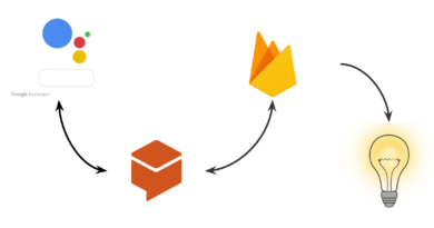 iot with google assistant and firebase