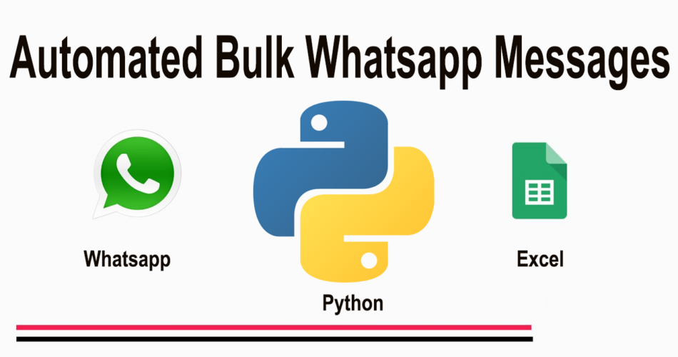 Bulk messages in whatsapp using python and excel