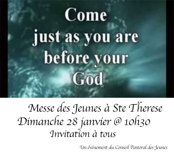 Messes des jeunes Jan 18