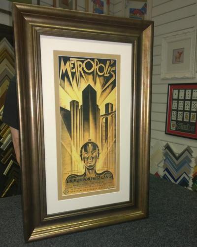 Large 'Metropolis' film poster