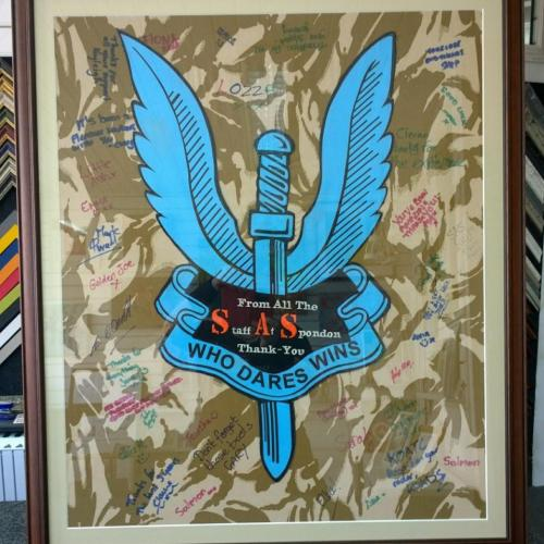 SAS Fabric Art