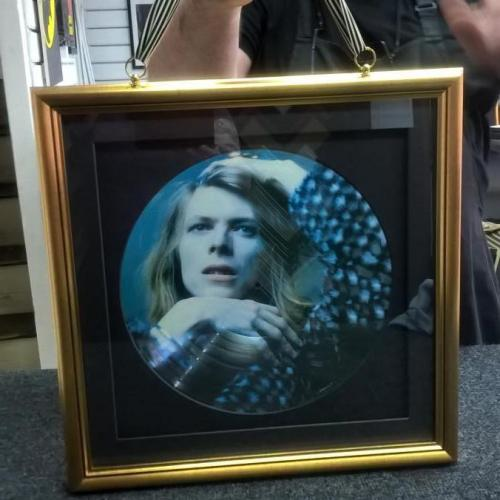 Double sided frame A side
