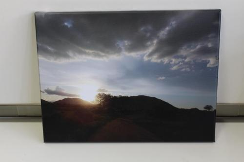 "Sunset 24"" x16"""