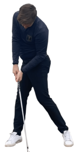 Impact position of the golf swing through golf lessons