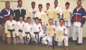 Dan Gradings 2003