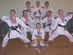 English Karate National Junior Championships 2003