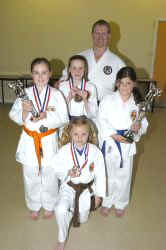 Northern Open Classic Karate Championship 2007 New Squad Members