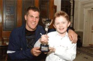 Warrington Young Sports Personality 2004 Zach Scott