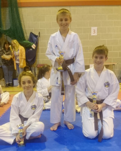 Club Comp 2015 Brown and Black Belts Boys and Girls 11-13 years