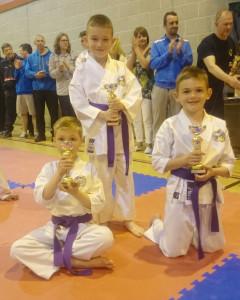 Club Comp 2015 Purple Belts 7-8 Years