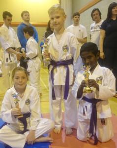 Club Comp 2015 Purple Belts 9-11 Years