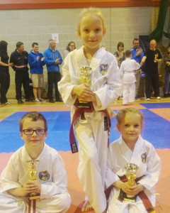 Club Comp 2015 Red StripeRed belts 7-8 Years