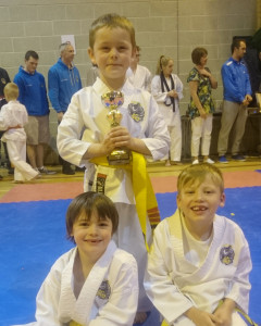 Club Comp 2015 Yellow belts 5-6 Years